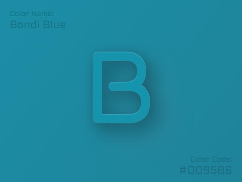 Alphabet B Letter Color