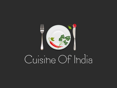 Indian Restaurant Logo V2