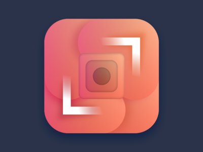 Square Dot Icon design