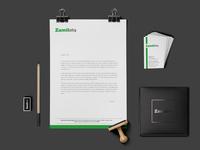 Zamil Infra Logo Design and Branding