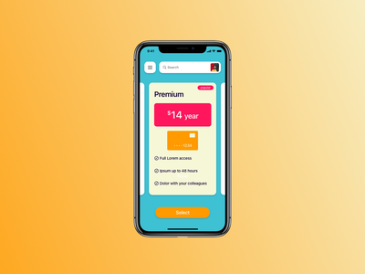 Payment 030 payment design ios dailyui