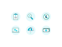 Bespoke Finance Icon Set