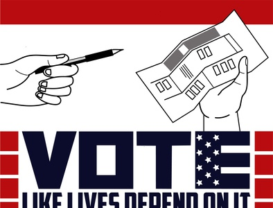 Vote Like Lives Depend on It voting politics