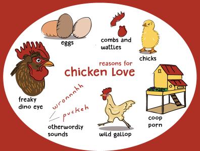 Chicken Love chickens birds