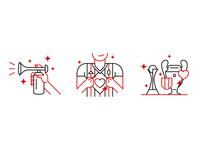 AC Milan - Website illustrations