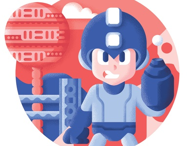 Megaman - Best platform games ever capcom megaman retrogaming platform level illustration game nintendo bit best