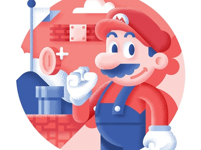 Super Mario Bros - Best platform games ever supermario mario nintendo retrogaming platform level illustration game drive bit best