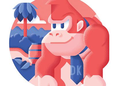 Donkey Kong - Best platform games ever kong donkey nintendo retrogaming platform level illustration game bit best