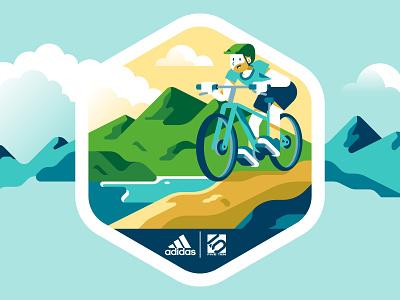 Adidas - Stickers 2 sports hiking character vector sticker sho studio sail ho studio outdoor nature mountain apparel adidas