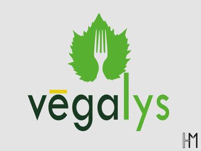 logo vegalys vector art illustrator illustration minimal flat logo branding design