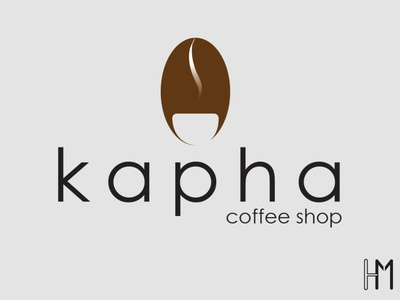 logo design kapha photoshop conception graphique design graphic brand design adobe vector minimal logo illustrator illustration flat design art branding