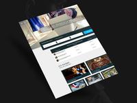 Revdem - Webdesign Homepage