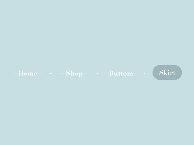 Daily UI :: 056 Breadcrumbs minimal flat icon dailyui app xd ui web daily 100 challenge