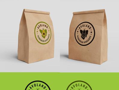 Logo design 02 avocado