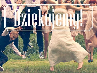 Thank-you wedding website! wedding retro vintage thank you bride groom bridesmaids best men