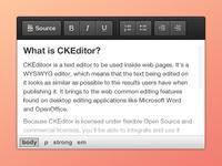 CKEditor - moono black wysiwyg editor free interface skin theme ckeditor text html toolbar ui web button icon black grey white