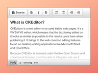 CKEditor - moono light white grey icon button web ui toolbar html text ckeditor theme skin interface free editor wysiwyg