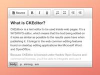 CKEditor - moono light white grey icon button web ui toolbar html text ckeditor theme skin interface free editor wysiwyg