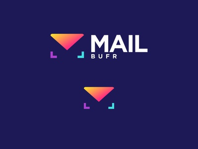 MAILBUFR vector minimal logo illustrator icon flat design