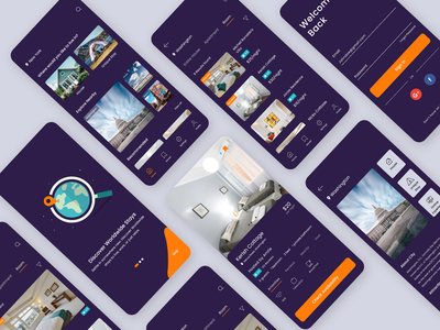 Airbnb App Redesign design inspiration mobile ui adobe xd