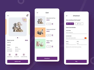 Ecommerce design inspiration mobile ui