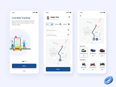 Uber App Redesign mobile app uiux figma travel cab uber ux ui