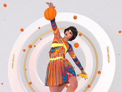 TAME IMPALA sculpture typography illustration 3d animation designer textures 3d artist 3d art cinema4d design 3d