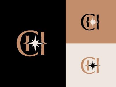 Creative Health Monogram podcast branding icons monogram logo design logo