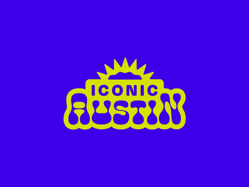 Iconic Austin Logo austin texas austin logo icons branding design