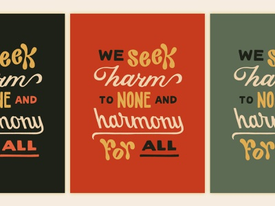 The Hill We Climb type script handlettering design lettering typography