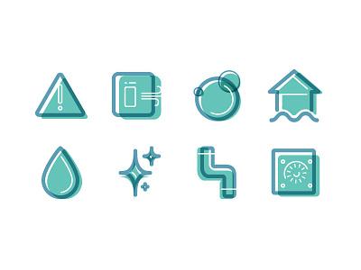 Restoration Icons restoration icons vector