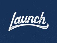Launch Lettering