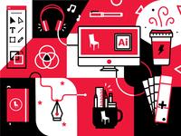 9/31: Creative Service Icons