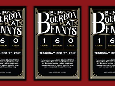 30/31: Blind Bourbon Tasting
