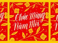 Lunar New Year - Vietnamese Lettering