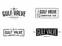 Gulf Valve Logo Exploration