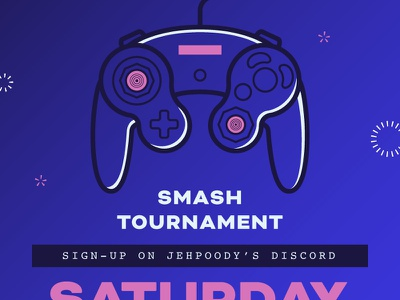 Smash Ultimate Tournament Poster nintendo switch wombo combo video games gamecube super smash bros nintendo icons design typography