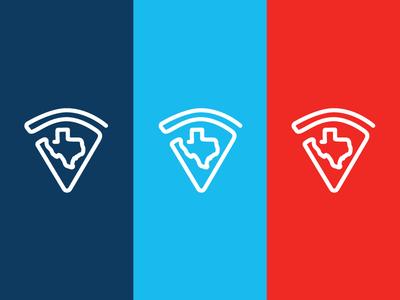 Howdy's Texas Pizza Logomark pizza logo pizza texas logo logomark
