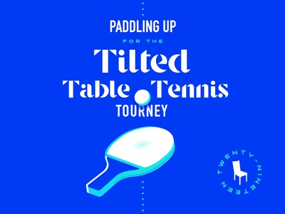 Ping Pong Poster illustration design table tennis ping pong