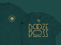 Green Light Social - Booze Boss Tshirt
