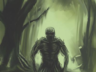Swamp Thing | Fan art dc comics superhero bog bayou creature monster swamp comic art fantasyart fan art swamp thing