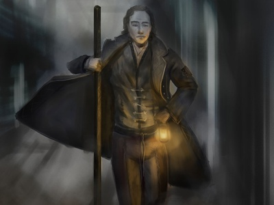 DnD Concept Character dungeonsanddragons lantern fantasyart conceptart dndart