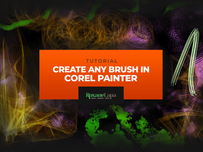 Corel Painter Custom Brush tutorial tutorial brushes brush corel painter