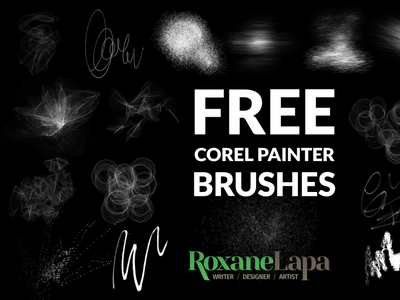 Free Corel Painter Particles Brush Set brushset corel painter free brushes brushes brush