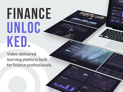 Finance Unlock app design ux design ui design uiux fintech app finance app finance fintech