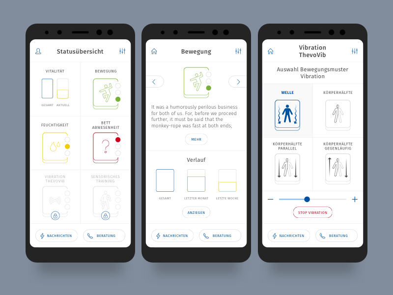 Mobile app ux & ui design by Mohl Design on Dribbble