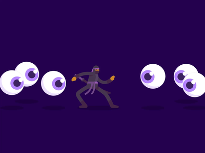 Ninja G👁den animation after effects