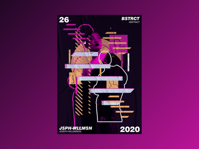 Abstract Illustration illustration collage mixed media design aesthetic poster challenge poster design poster a day graphic design
