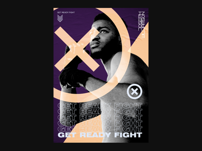 Get Ready Fight branding design branding and identity advertising branding experimental typography design poster design graphic design