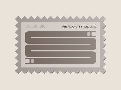 Mexico City stamp postage postage stamp stamp nature symbol snake icon snake logo icon neutral stone mayan temple pyramid pyramids building ancient art snake mexico